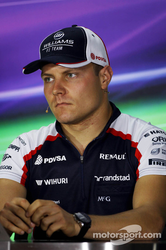 Valtteri Bottas, Williams na coletiva da FIA