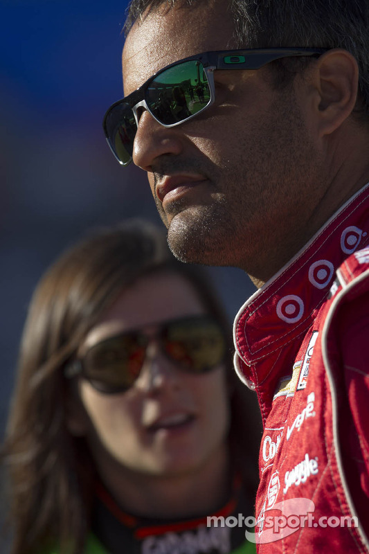 Juan Pablo Montoya e Danica Patrick
