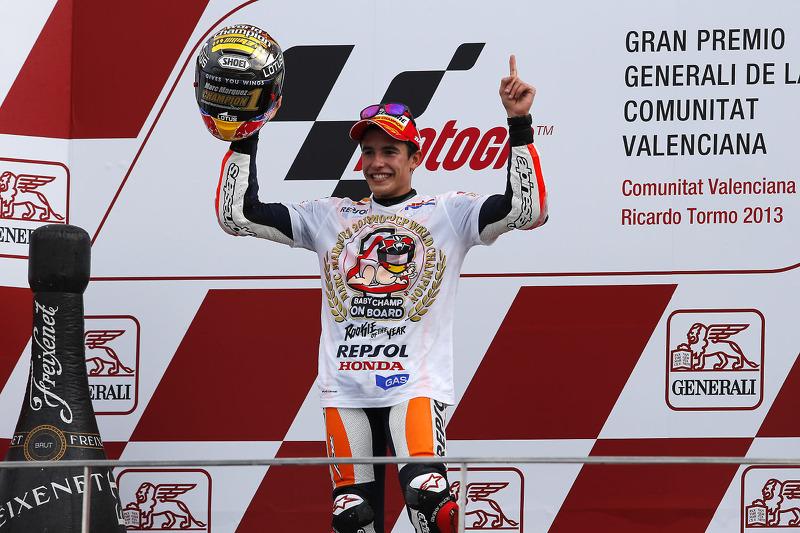 2013 kampioen Marc Marquez, Repsol Honda Team