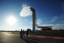 Esteban Gutierrez, Sauber loopt op het circuit