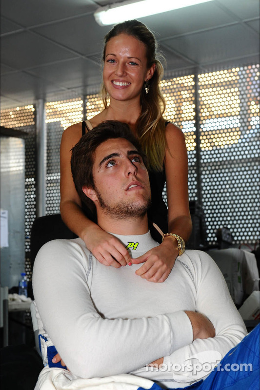 Pepe Oriola, Chevrolet 1.6T, Tuenti Racing Team com sua namorada
