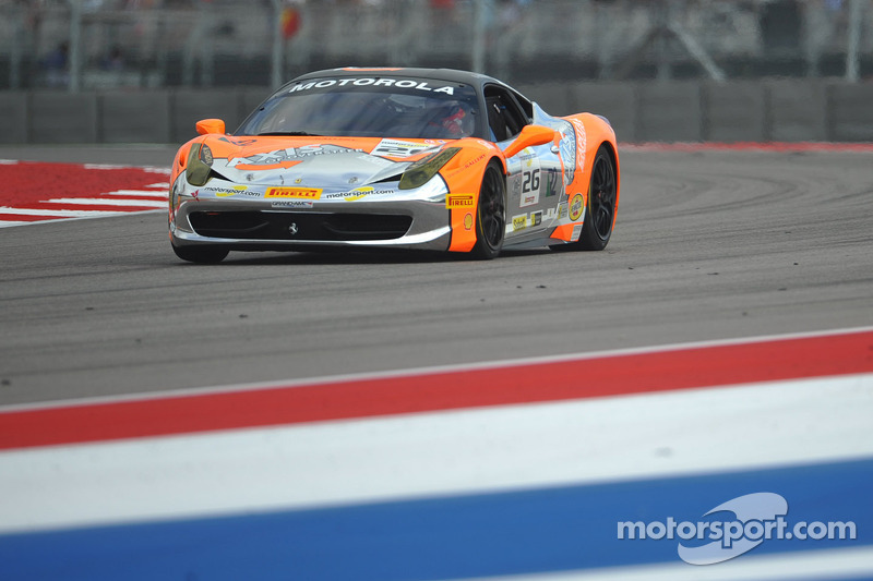 #26 The Auto Gallery Ferrari 458: Carlos Gomez