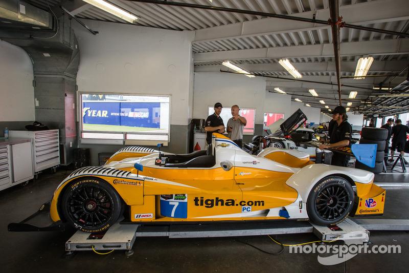 #7 Starworks Motorsport ORECA FLM09 Chevrolet