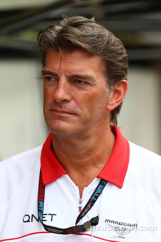 Graeme Lowdon, Chefe executivo da Marussia F1 Team