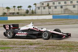 Хуан-Пабло Монтойя . Ноябрьские тесты Team Penske, тесты.