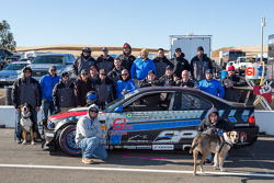 Class winners #61 Stammer-Inc / Bavarian Performance BMW M3-E46: Matt Crandall, Gregory Liefooghe, Eddie Nakato, Jeffrey Stammer, Derek Welch