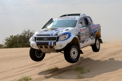 Ford Ranger testing in Namibia