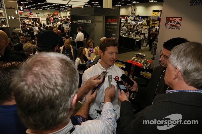 Chip Ganassi presenta a su piloto