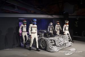 The 2014 Porsche LMP1 drivers are announced