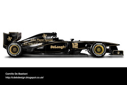Retro F1 car - Lotus 1986