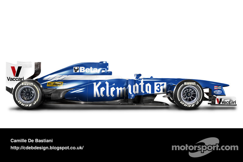 Formel-1-Auto im Retrodesign: Osella 1983