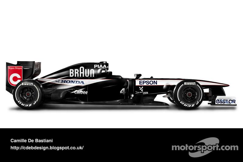 Carro de F1 retrô - Tyrrell 1991