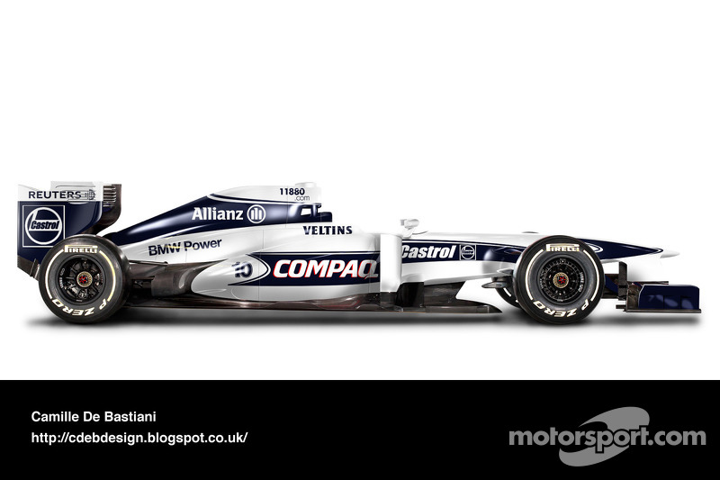 Auto Retro F1 - Williams 2000