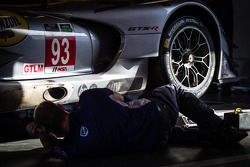 SRT Motorsports team member at work