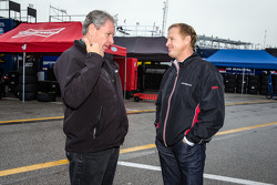 Jimmy Fennig and Rusty Wallace