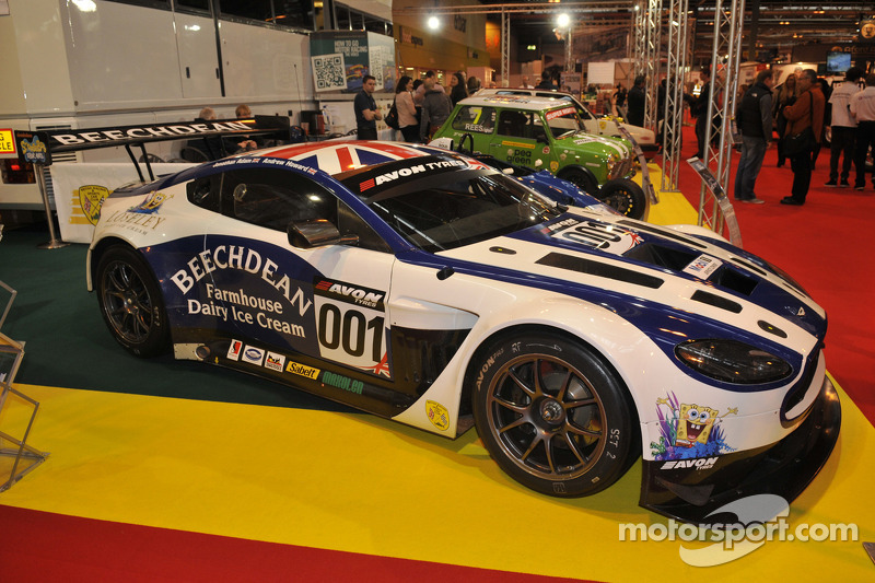2013 Winning British GT Aston Martin