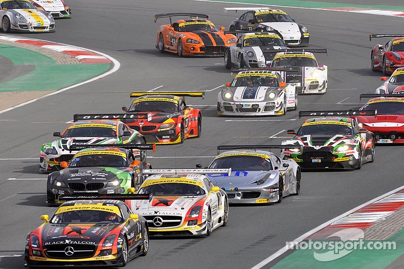 Via: #1 Team Abu Dhabi by Black Falcon Mercedes SLS AMG GT3: Khaled Al Qubaisi, Jeroen Bleekemolen, Bernd Schneider, Andreas Simonsen al comando