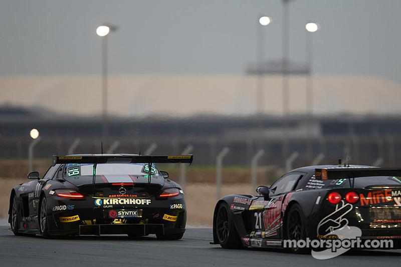 #1 Team Abu Dhabi by Black Falcon 梅赛德斯 SLS AMG GT3: 卡勒德·阿尔库拜西, 杰伦·布勒克莫伦, 伯纳德·施奈德, 安德利亚斯·西蒙森