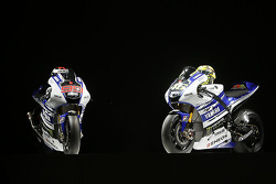 The Yamaha YZR-M1 of Valentino Rossi and Jorge Lorenzo