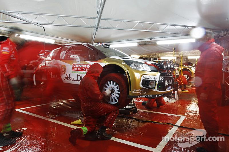Citroën takım alanı