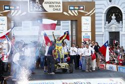 Quad category winner #251 Yamaha: Ignacio Casale