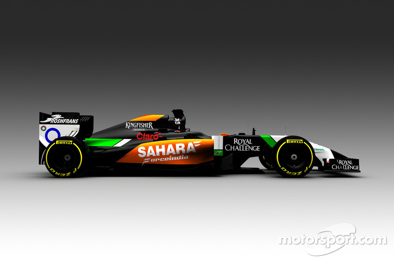 Yeni Sahara Force India VJM07