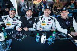 Andrew Davis, Patrick Dempsey, Joe Foster and Marc Lieb