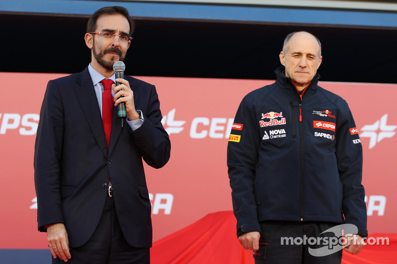 Franz Tost, Scuderia Toro Rosso Takım Müdürü, Scuderia Toro Rosso STR9 lansmanında