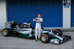 Nico Rosberg with the Mercedes AMG F1 W05