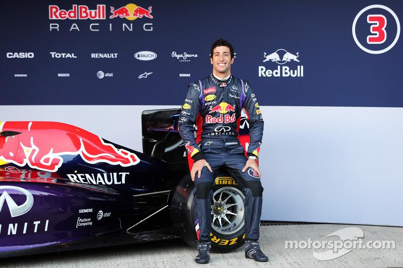 Daniel Ricciardo, Red Bull Racing Red Bull Racing RB10 lansmanında