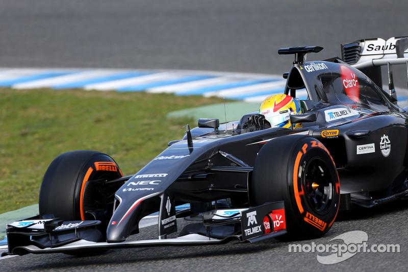 Esteban Gutierrez, Sauber F1 Team