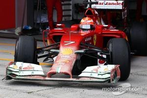 #7 Kimi Raikkonen, Ferrari F14-T