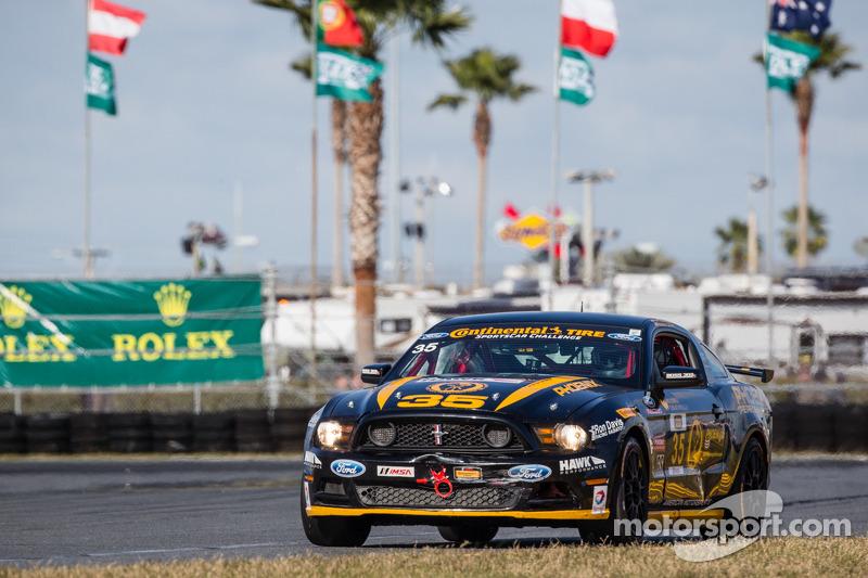 #35 Phoenix American Motorsports 野马 Boss 302 R: 普雷斯顿·卡尔弗特
