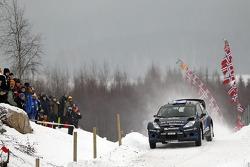 Mikko Hirvonen and Jarmo Lehtinen, M-Sport Ford Fiesta WRC