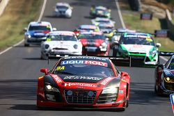 #9 Audi R8 LMS ultra: Marc Cini, Mark Eddy, Christopher Mies