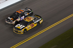 Ryan Newman and Denny Hamlin