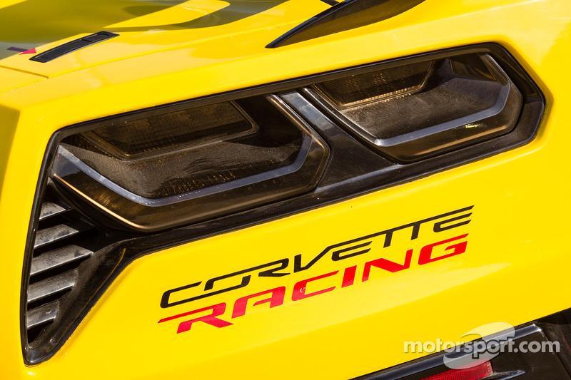 #3 Corvette Racing Chevrolet Corvette: detalhe da luz traseira