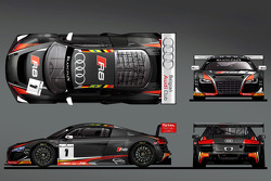 The Belgian Audi Club WRT 2014 livery