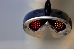 Red Bull Racing pitstop lights