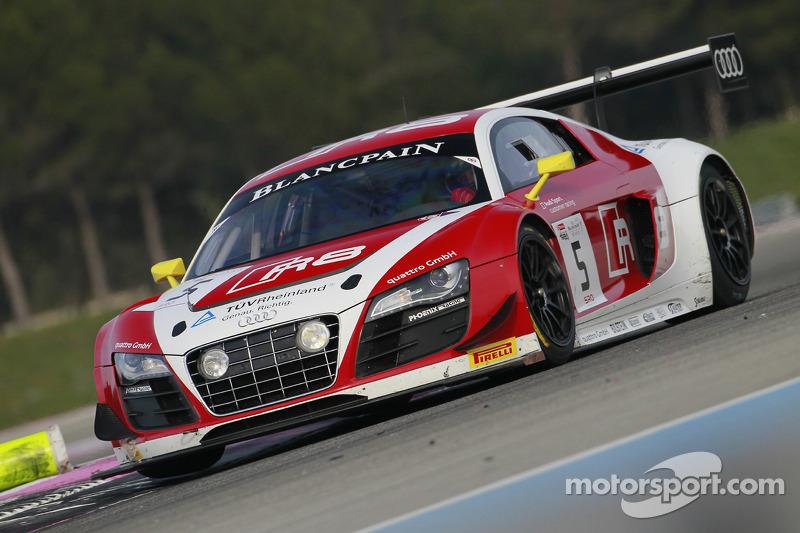 #5 Phoenix Racing 奥迪 R8 LMS ultra