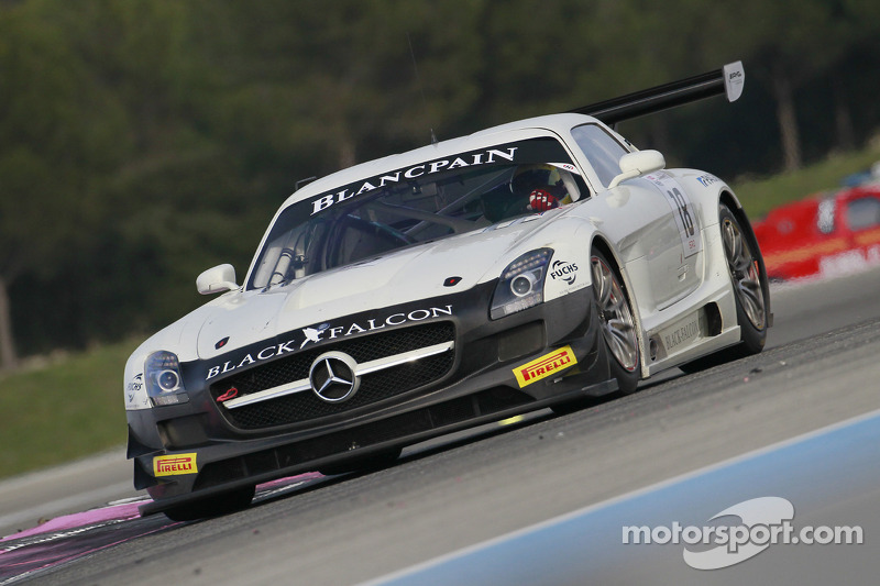 #18 Black Falcon Mercedes SLS AMG GT3
