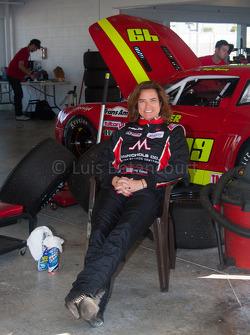 #23 McNichols Company Chevrolet Corvette: Amy Ruman