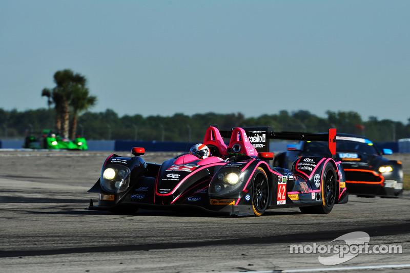 #42 OAK Racing 摩根 日产: 奥利弗·普拉, 古斯塔沃·亚卡曼, 阿历克斯·布伦德尔