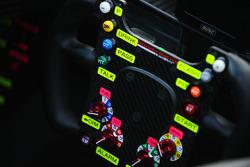 HPD赛车方向盘细节