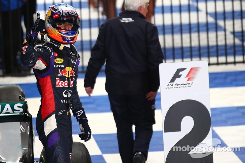 2nd place Daniel Ricciardo, Red Bull Racing