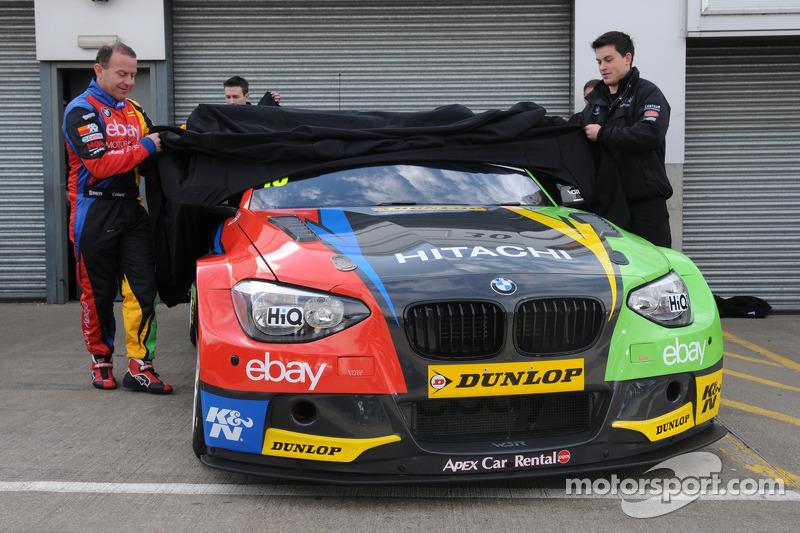 La presentazione della Rob Collards eBay Motors BMW