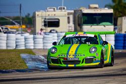 #11 Kelly-MossMotorsports Porsche 991 GT3 Cup : Dan Weyland