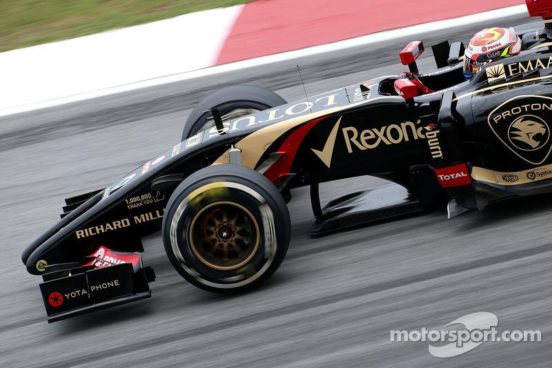 Pastor Maldonado (VEN), Lotus F1 Team