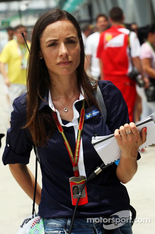 Maria Serrat, apresentadora de TV da Telefonica