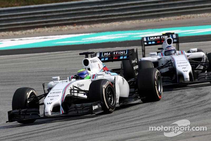 Felipe Massa (BRA), Williams F1 Team; Valtteri Bottas (FIN), Williams F1 Team